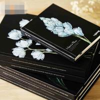 联华文具韩国笔记本简约复古记事本小清新 创意日记本厚本子硬面