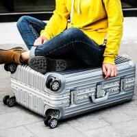 高品质时尚拉杆箱铝框女士万向轮旅行箱男士行李箱