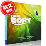 现货 英文原版 The Art of Finding Dory 海底总动员2艺术画册
