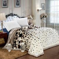 君别拉舍尔毛毯被子加厚保暖双层冬季珊瑚绒毯子单人双人床单学生宿舍