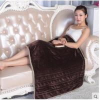 厚实细腻柔软保暖多功能可水洗家用暖脚暖身简单大气电热毯护膝毯办公室电热毯