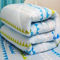 君�e棉花被子冬被加厚保暖秋冬被芯�和�被褥�W生�|被新疆棉絮手工棉被 150x200cm 7.3斤