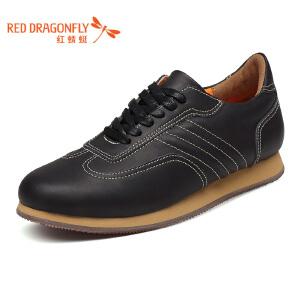 红蜻蜓男鞋 春秋新款正品时尚户外运动风板鞋男士休闲鞋单