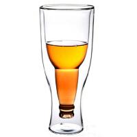 普�� 啤酒杯玻璃 �p�臃��D倒置 350毫升