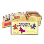 Origami Butterflies Kit: [Origami Kit with 2 Books, 98 Pape