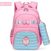 韩版可爱小清新双肩包女2018新款生初中学生小学六年级女生背的书包女孩小学生4-6六年级校园背包