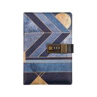 CAGIE/卡杰密码笔记本日记本带锁私密成人创意手帐本B6记事本复古埃及传说大学生手账本礼盒装