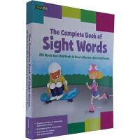 【中商原版】Complete Book of Sight Words 英文原版儿童书识字工具书 字典