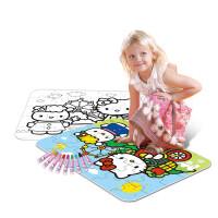 Hello Kitty趣味拼图玩具创意儿童益智涂色拼图DIY上色拼图地垫