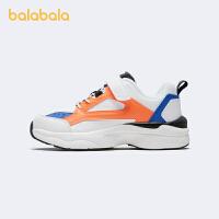 【1.20年�� 3件4折: 107.6】巴拉巴拉官方童鞋男童�\�有��和�慢跑鞋新款透�饩�震防滑2020冬