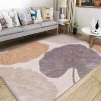 北欧简约地毯客厅现代沙发茶几房间可爱卧室床边毯满铺榻榻米