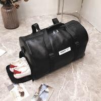 短途男士旅行包女出差手提包衣服行李包大容量防水运动健身包鞋位