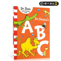 Dr. Seuss's ABC 苏斯博士ABC 苏斯博士阶段英文原版绘本本入门 送音频 绘本 生动的图画和简单的语言,为初学者介绍字母表 现货