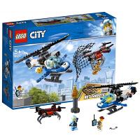 【当当自营】乐高LEGO 城市组CITY系列 60207 空中特警无人机追击