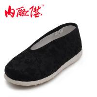 内联升 童鞋 手工千层底织锦小元 宝宝鞋 学步鞋 老北京布鞋 5364C