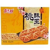 嘉士利 桃酥王 800g(5件)盒装 两种味道任选 休闲办公室零食