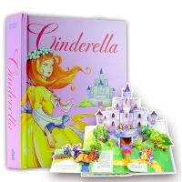 【中商原版】英文原版外国少儿童话故事书CINDERELLA Pop-Up Book灰姑娘立体书