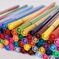 迪士尼儿童水彩笔套装12 18 24 36色 无毒可水洗幼儿宝宝画笔