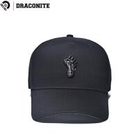 DRACONITE新款潮流街头嘻哈休闲时尚个性刺绣弯檐鸭舌帽子男16221