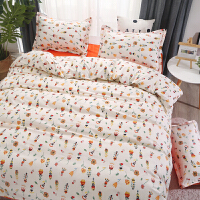君别新ins风少女床上4四件套2.0m学生宿舍单人床单3三件套1.2床单被罩
