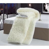 进口澳洲羊毛垫 羊毛床垫床褥子双人 加厚保暖 学生单人质量媲美慕斯喜临门顾家