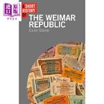 【中商原版】魏玛共和国简史 英文原版 A Short History of the Weimar Republic 书