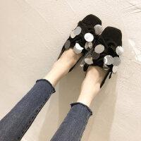 百搭韩版学生原亮片港风帆布鞋单鞋女春季新款ins平底板鞋