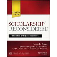 【预订】Scholarship Reconsidered: Priorities of the Professoriat