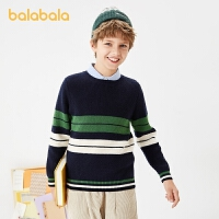【�_�W季 折后�B券�A估�r:128.2】巴拉巴拉�和�毛衣秋冬童�b男童��衫中大童假�杉�打底衫