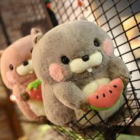 可爱卡通玩偶松鼠毛绒玩具抱枕公仔情人萌布娃娃儿童生日礼物女孩
