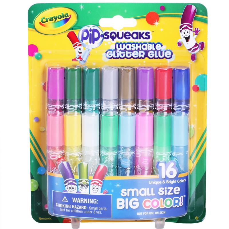 当当自营Crayola 绘儿乐 16色短杆胶水笔 69-4200