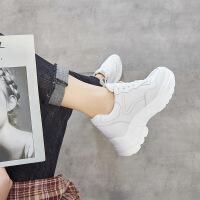 运动鞋女韩版原宿百搭2019春季新款时尚厚底老爹小白鞋潮