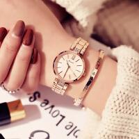 简约时尚大方女士链条防水石英手表配饰学生腕表礼物