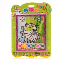 卓峰 创意画 DIY手工系列 图案随机 幼儿园儿童涂色涂鸦绘画本 画册 宝宝学画画 图画书 填色本 2-3-4-6岁宝