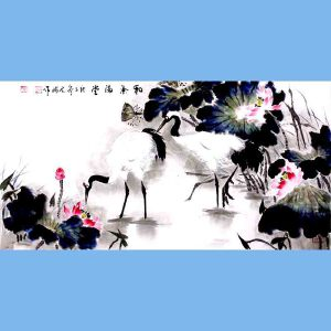 中国青年美术家协会常务理事,中国扇子艺术学会会员,中国山水画院专业画家,山东美术家协会会员,国家一级美术师高云鹏(和气满堂)