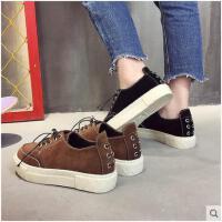 春季新款平底帆布女鞋学生韩版布鞋百搭原宿港味板鞋