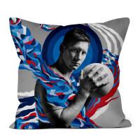 梅西抱枕头定制来图定做世界杯巴萨皇马C罗的照片diy生日礼物