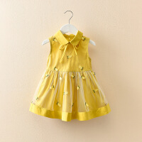 【领券2件2折】斯提妮女童连衣裙夏宝宝裙子2021新款童装小女孩背心裙超洋气仙女公主裙