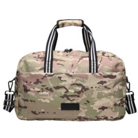 户外休闲包男斜跨单肩包运动健身包女手提大容量防泼水旅行包