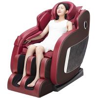 按摩椅家用全身自动揉捏老年人小型太空舱多功能电动 红色