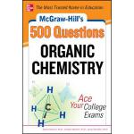 【预订】McGraw-Hill's 500 Organic Chemistry Questions: Ace Your