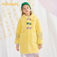 【3件4折价:200】巴拉巴拉童装女童棉服儿童棉衣童装中大童潮