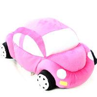 咔噜噜小汽车玩具抱枕毛绒娃娃 创意公仔卡通汽车模型生日礼物  情人节礼物