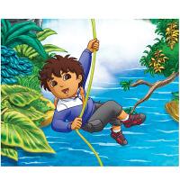 幼儿童益智力拼图200片迪亚哥常规纸质卡通动漫平面拼图玩具