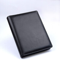 A5真皮笔记本加厚活页本商务牛皮本子礼品文具套装定制