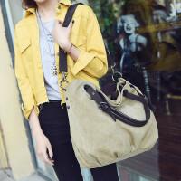 女包单肩包斜挎包运动布包帆布包大包韩版休闲包旅行包手提包
