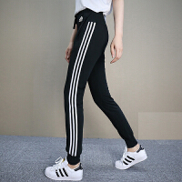 Adidas阿迪达斯 女裤 2018新款运动休闲针织舒适长裤 CX5172
