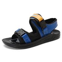 儿童沙滩凉鞋男童鞋2018夏新款青少年儿童凉鞋学生男中大童运动沙滩凉鞋
