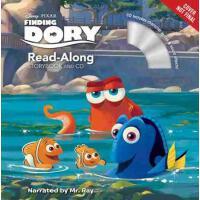 海底总动员2英文原版书 CD Finding Dory (Read-Along Storybook and CD)儿童
