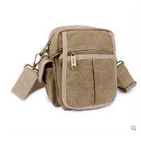 男式户外运动 包休闲运动小包 男单肩斜挎包腰包 新款多功能帆布包